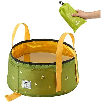Naturehike skládací nádoba pro skladování/mytí 10l zelená (6927595772539)