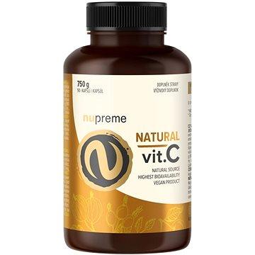 Nupreme Natural Vitamín C, 90 kapslí (8594176065250)