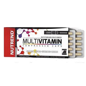 Nutrend Multivitamin Compressed Caps, 60 kapslí, (8594073179029)