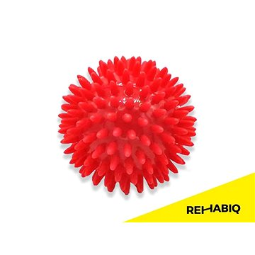 Rehabiq Masážní míček ježek červený, 8 cm (RIQ-JEZ8)