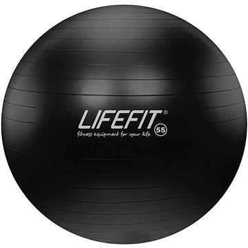 Lifefit anti-burst 55 cm, černý (4891223119572)