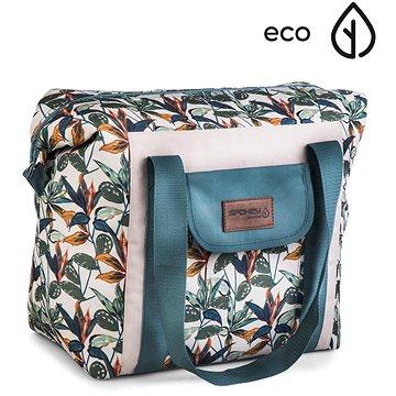 Spokey Eko Way Termo taška hnědá 52 x 20 x 40 cm (K929508)