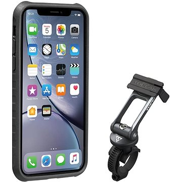 Topeakl Ridecase pro iPhone XR černá/šedá (TT9859BG)