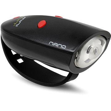 Mini Hornit Nano Zábavná houkačka se světlem černá (5060509921188)