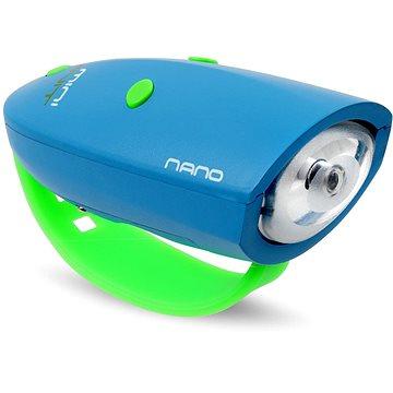 Mini Hornit Nano Zábavná houkačka se světlem modrá (5060509921195)