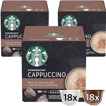 Starbucks by Nescafé Dolce Gusto Cappuccino, 3 balení (7613036989312)