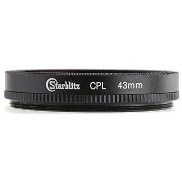 Starblitz cirkulárně polarizační filtr 43mm (SFICPL43)