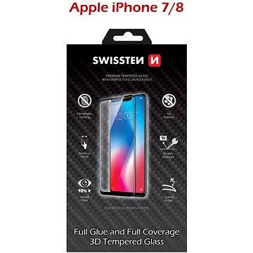 Swissten 3D Full Glue pro iPhone 7/ 8 bílé (64701701)