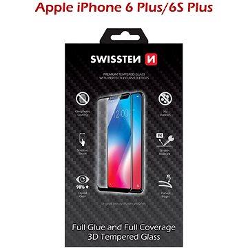 Swissten 3D Full Glue pro iPhone 6 Plus/ 6S Plus bílé (64701707)