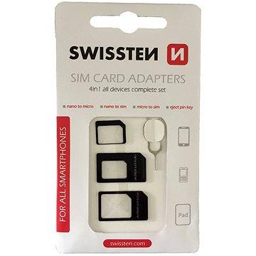Swissten adaptér na sim 4v1 (85002300)