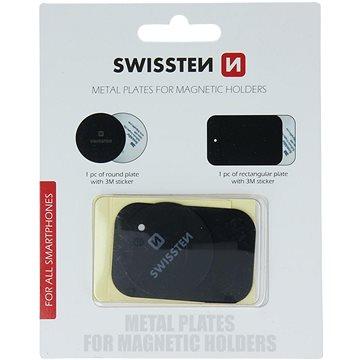 Swissten náhradní plíšky k magnetickým držákům (88801405)