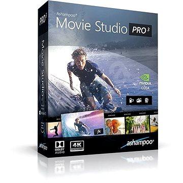 Ashampoo Movie Studio Pro 3 (elektronická licence) (Ashamovstupro3)