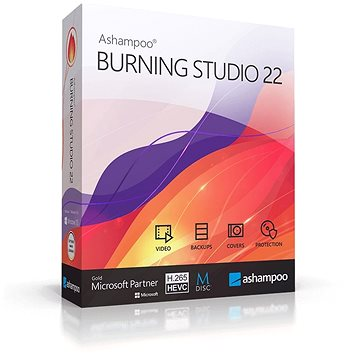 Ashampoo Burning Studio 22 (elektronická licence) (Ashaburs22)