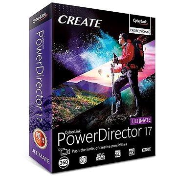 CyberLink PowerDirector 17 Ultimate (elektronická licence) (Cybepowdirultim17)