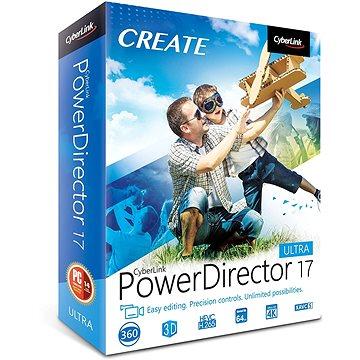 CyberLink PowerDirector 17 Ultra (elektronická licence) (Cybepowdirultra17)