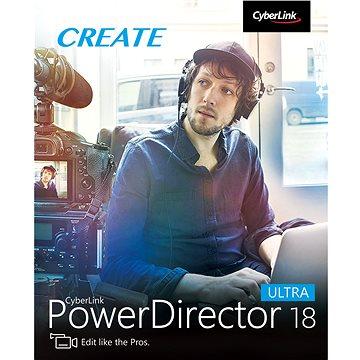 CyberLink PowerDirector 18 Ultra (elektronická licence) (Cybepowdirultra18)
