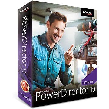 CyberLink PowerDirector 19 Ultimate (elektronická licence) (Cybepowdirultim19)