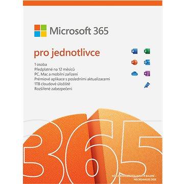 Microsoft 365 pro jednotlivce (elektronická licence) (QQ2-00012)