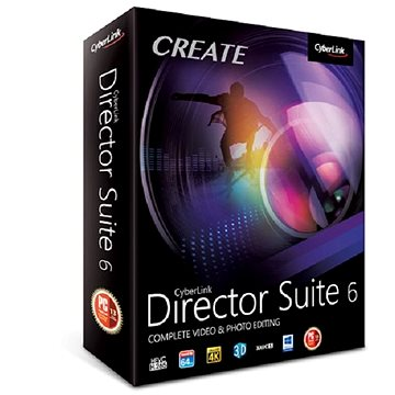 Cyberlink Director Suite 6 (elektronická licence) (cybedirsui6)