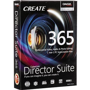 Cyberlink Director Suite 365 na 12 měsíců (elektronická licence) (cybeDRS365)