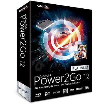 Cyberlink Power2GO Platinum 12 (elektronická licence) (cybepow2gopla11)