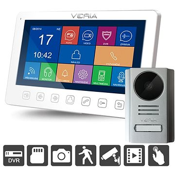 SET videotelefonu VERIA 7076B + VERIA 229 (S-7076B-229)