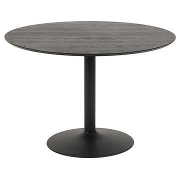 Design Scandinavia Jídelní stůl Ibiza, 110 cm, černá (A1003986)
