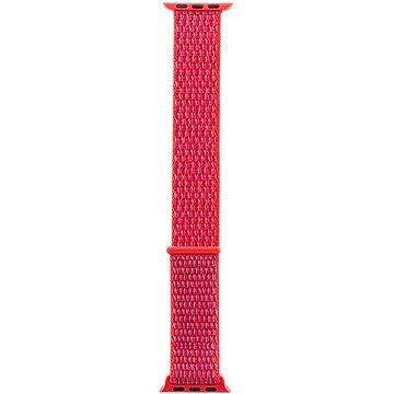 Tactical Látkový řemínek pro Apple Watch 38mm / 40mm Pink (8596311097072)
