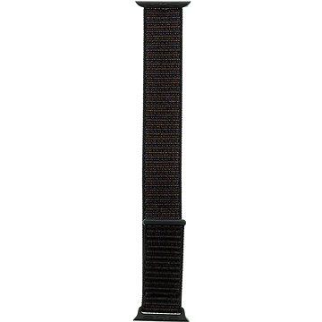 Tactical Látkový řemínek pro Apple Watch 38mm / 40mm Black (8596311097065)
