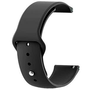 Tactical silikonový řemínek pro Huawei Watch GT 2e/GT2 46mm Black (8596311113888)