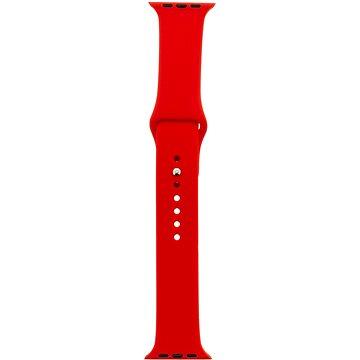 Tactical Silikonový řemínek pro Apple Watch 38mm / 40mm Red (8596311073090)