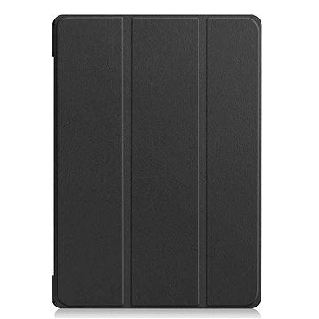 Tactical Book Tri Fold Pouzdro pro Huawei MediaPad M5 Lite 10 Black (8596311059605)