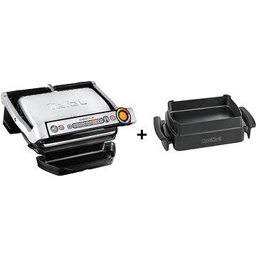 Tefal GC712D34 Optigrill+ INOX EE + Tefal XA725870 Baking accessory for Optigrill+/Elite