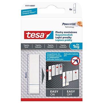 Tesa Lepicí proužky na tapety a omítku 1kg (77771-00007-00)