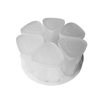 TESLA EliteCook K70 - sada 6 šálků na výrobu jogurtu (8594163277215)