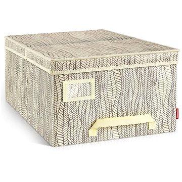 TESCOMA Krabice na oděvy FANCY HOME 40 x 52 x 25 cm, smetanová (8595028403428)