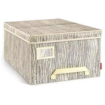 TESCOMA Krabice na oděvy FANCY HOME 40 x 52 x 25 cm, cappuccino (8595028403435)
