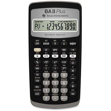 TEXAS Instrument TI BA II PLUS (TI-BAII+)
