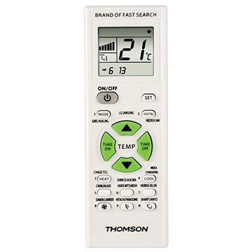 Thomson - univerzální dálkový ovladač pro klimatizace (131838)