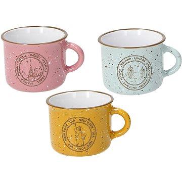 Tognana Sada šálků na kávu s podšálky 6 ks 100 ml TRAVEL GI-RSA-AZ (DL11510M119)