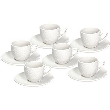 Tognana Sada šálků na kávu 90 ml s podšálky 6 ks GOLF (GF085010000)