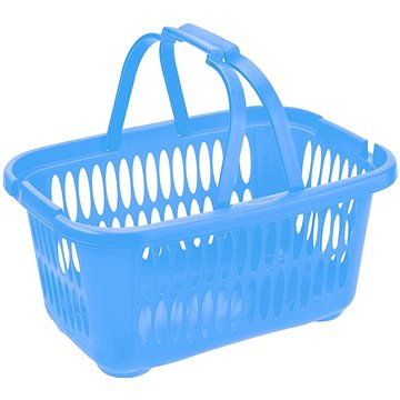 Tontarelli Koš s rukojeťmi Cover Line 19,4l na čisté prádlo modrá (8065143788)