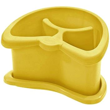 Tontarelli Odkapávač na příbory BRIO s tácem oranžová (8075429302)