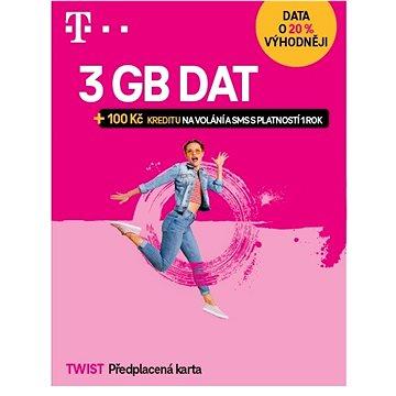 Předplacená karta Twist s Námi 2GB (700 617)