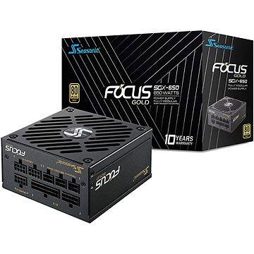 Seasonic Focus SGX 650 Gold (SSR-650SGX)