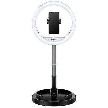 USAMS US-ZB120 Stretchable Selfie Ring Light black (ZB120ZJ01)