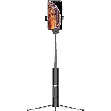 USAMS US-ZB064 Phantom Wireless Selfie Stick black (ZB6401)