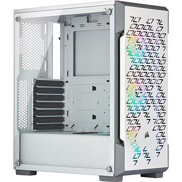 Corsair iCUE 220T RGB Tempered Glass bílá (CC-9011174-WW)