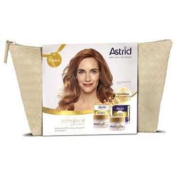 ASTRID Q10 Denní krém 50 ml + Noční krém 50 ml v dárkové taštičce (8592297006619)