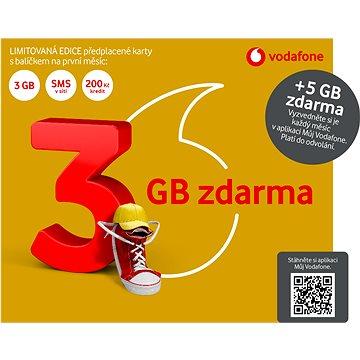 """Vodafone Zlatá karta - limitovaná edice """"3GB zdarma"""" (SK48A166)"""